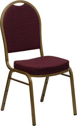 """Flash Furniture HERCULES Series FD-C03-ALLGOLD-XX-GG 18.25"""" Dome Back Stacking Banquet Chair with Patterned Fabric, 2.5"""" Thick Seat, Gold Frame, 16 Gauge Steel Frame, and Ships Fully Assembled"""