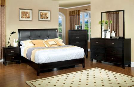 Furniture of America CM7088CKSET Enrico I California King Be
