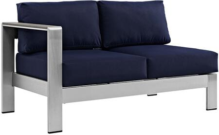 Modway EEI2265SLVNAV  Patio Love Seat