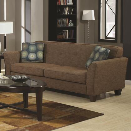 Coaster 504151 Lilian Series Stationary Fabric Sofa