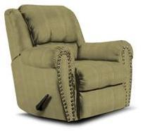 Lane Furniture 21414492532 Summerlin Series Transitional Fabric Wood Frame  Recliners