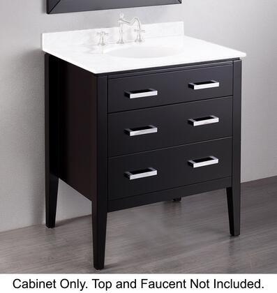 Vanity Cabinet in Black