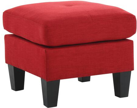 Glory Furniture G474O Transitional Fabric Ottoman