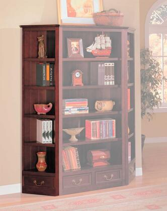 Coaster 800376  Wood 5 Shelves Bookcase