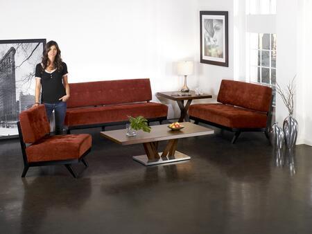 Armen Living LC10333BP Trace Series  Sofa