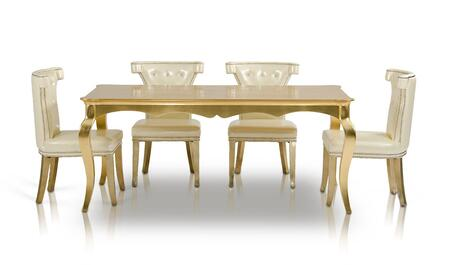 VIG Furniture AC8411805PCSET Armani Xavira Dining Room Table