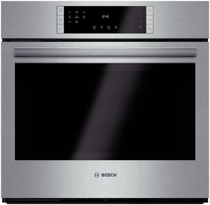 "Bosch HBL8451UC 30"" Single Wall Oven, in Stainless Steel"