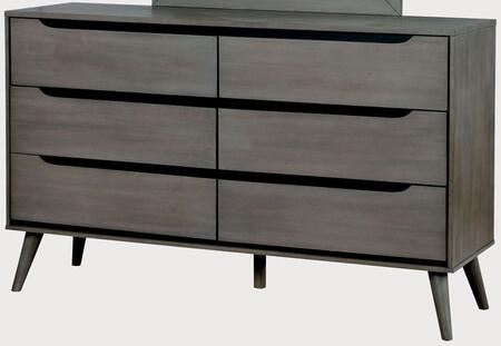 Furniture of America CM7386GYD Lennart Series  Dresser
