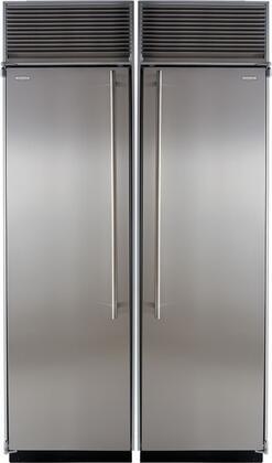 Marvel 707925 Side-By-Side Refrigerators