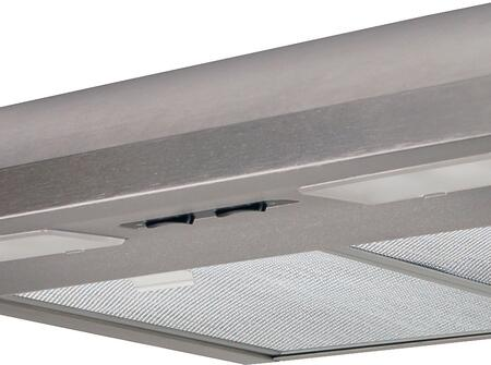 "Air King EB36x 36"" Under Cabinet Range Hood with 250 CFM, Lighting, Energy Star, in"