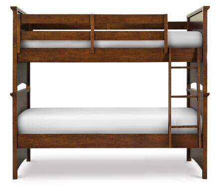 Magnussen Y187370K1 Riley Series Childrens Twin Size Bunk Bed