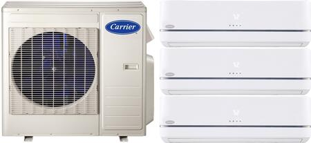 Carrier 700813 Performance Triple-Zone Mini Split Air Condit