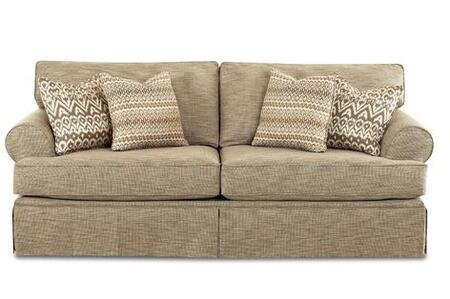 Klaussner NEEVADQSL Neeva Series Pull-Out Fabric Sofa