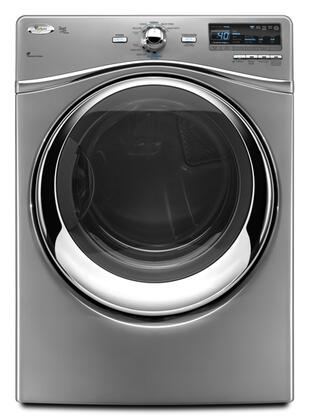 Whirlpool WGD94HEXL Duet Steam Series Gas Dryer, in Silver