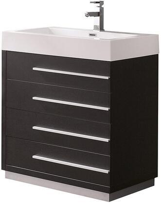 "Fresca FCB8030XXX Livello 30"" Modern Bathroom Cabinet with Integrated Sink"