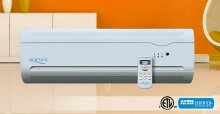 Quietside QSHX182 Mini Split Air Conditioner Cooling Area