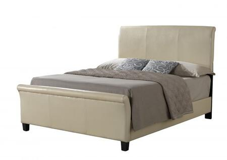 Glory Furniture G2755KBUP G2700 Series  King Size Sleigh Bed