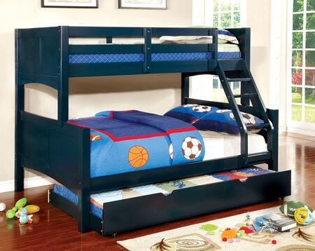 Furniture of America CMBK608FBLBEDT Prismo II Twin over Full