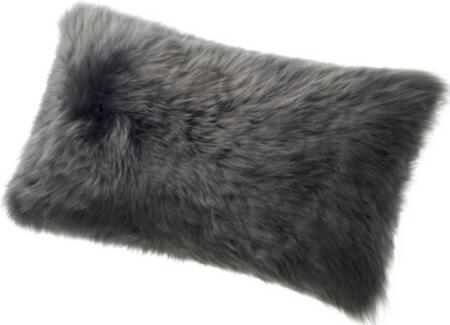 "Auskin Auskin CL28X56F 11"" x 22"" Long Sheepskin Wool Cushion in"