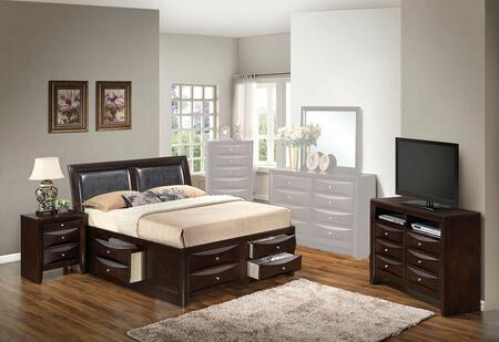 Glory Furniture G1525ITSB4NTV2 G1525 Twin Bedroom Sets