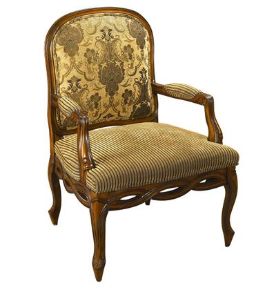 Stein World 80963 Accent Seating Series Armchair Fabric Wood Frame Accent Chair