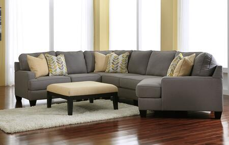 Milo Italia MI9452RCSECOALLO Peyton Living Room Sets