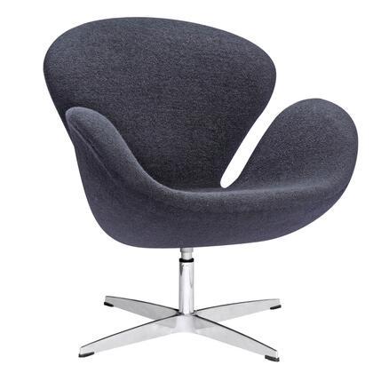 Fine Mod Imports FMI1140 Swan Wool Chair: