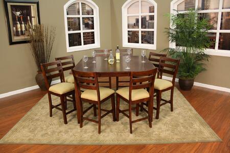 American Heritage 713621 Este Dining Room Sets
