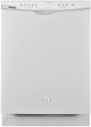 "Haier DWL2825DDWW 24"" White Energy Star Series Built-In Full Console Dishwasher"
