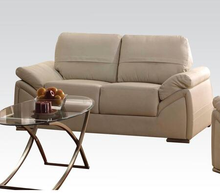 Acme Furniture 51701 Ember Series Faux Leather Loveseat Appliances Connection
