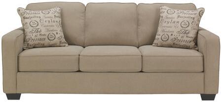 Flash Furniture FSD1669SOQTZGG Alenya Series Stationary Microfiber Sofa