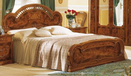 ESF Milady Collection I42-X Bed in Walnut