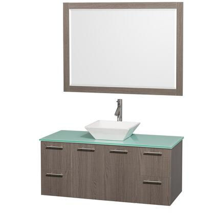 Wyndham Collection WCR410048GOGRD28WH