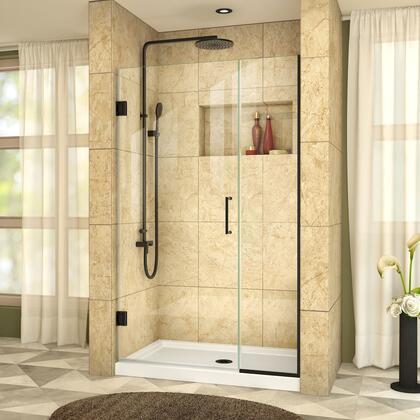 DreamLine UnidoorPlus Shower Door 39 30D 14P 09