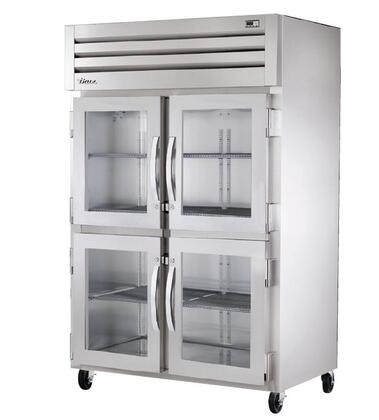True STA2R-4 Spec Series Two-Section Reach-In Refrigerator with 56 Cu. Ft. Capacity, 134A Refrigerant, LED Lighting and Swing-Doors
