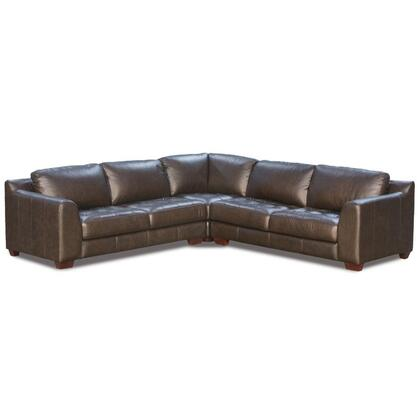 Diamond Sofa ZENSQ3PCARMSECTM  Sofa