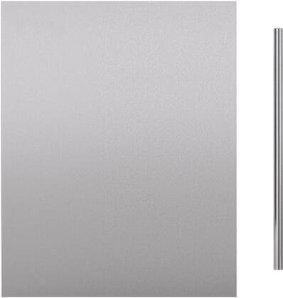 """Sub-Zero 703042 Door Panel with Handle for 24"""" Indoor Undercounter Refrigerator Models, in Stainless Steel"""