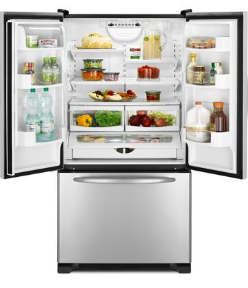 Maytag Mfc2061kes Counter Depth French Door Refrigerator