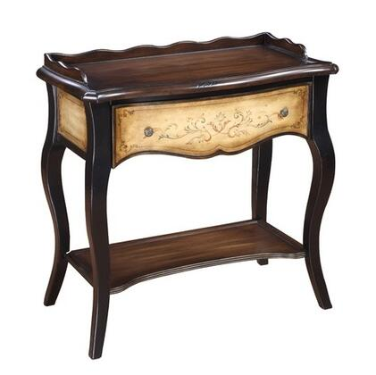 Gail's Accents 55024CO Houston Series Traditional Rectangular End Table