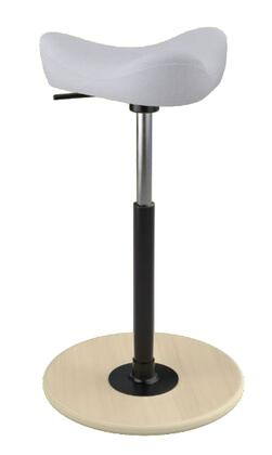 """Varier MOVE SMALL 2700 REVIVE 22"""" - 32"""" Sit-Stand Chair with Revive Upholstery,"""