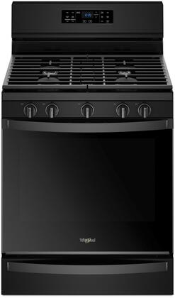 Whirlpool WFG775H0HX Freestanding Gas Range with 5.8 cu. ft. Capacity, Aqualift Technology, Fan Convection and EZ lift Grates in