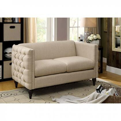 Furniture Of America Emer Collection Cm6780xx Lv Set 54 Loveseat