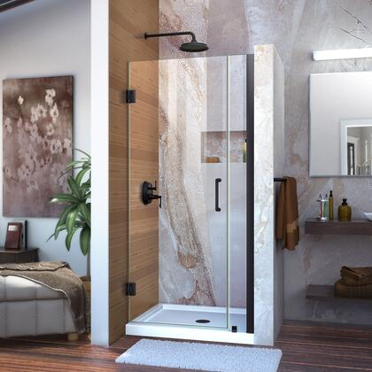 DreamLine Unidoor Shower Door with Base 12 28D 6P 09 72 WM 11 16