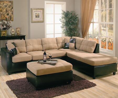 Coaster 500675R  Modular Microfiber Sofa