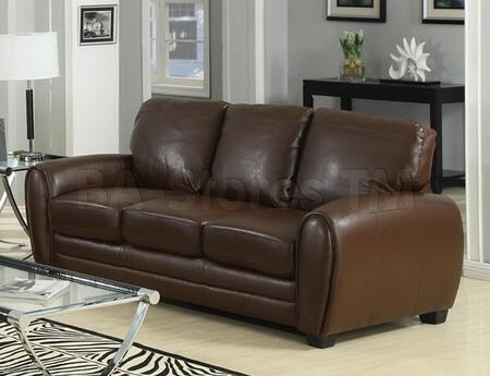 Acme Furniture 15240A Amber Series  Bonded Leather Sofa