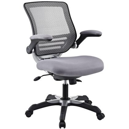 "Modway EEI594GRY 26.5"" Adjustable Contemporary Office Chair"