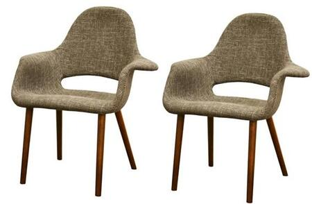 Wholesale Interiors DC594TAUPESET Accent Chairs