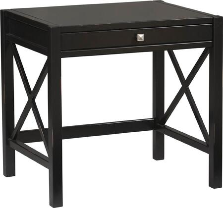 Linon 86111C12401KDU Anna Series Computer  Pine and Painted MDF Desk