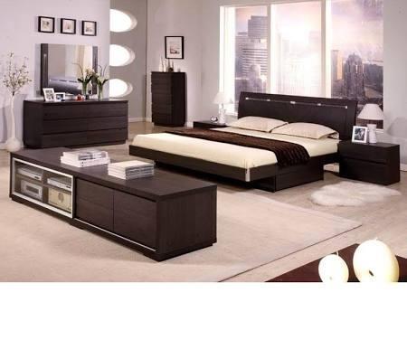 VIG Furniture VGDAFCAPRI Modrest Capri Modern Bedroom Set