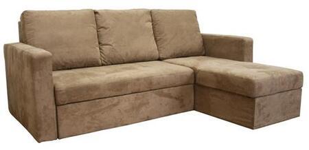 Wholesale Interiors LAN121SOFACHAISE Linden Series  Sofa